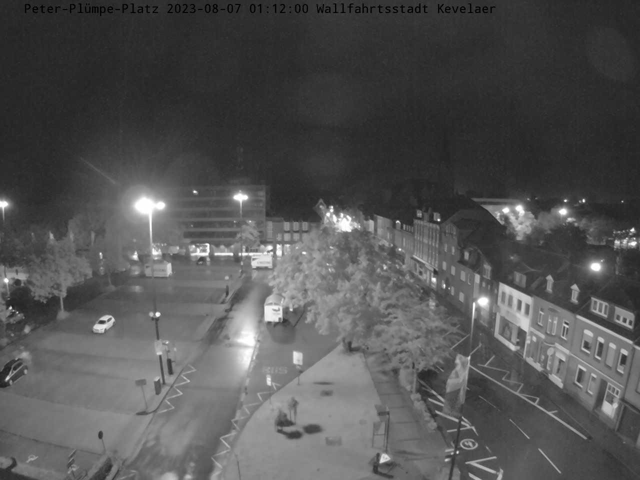 Bild der Webcam mit Blick auf den Peter-Plümpe Platz