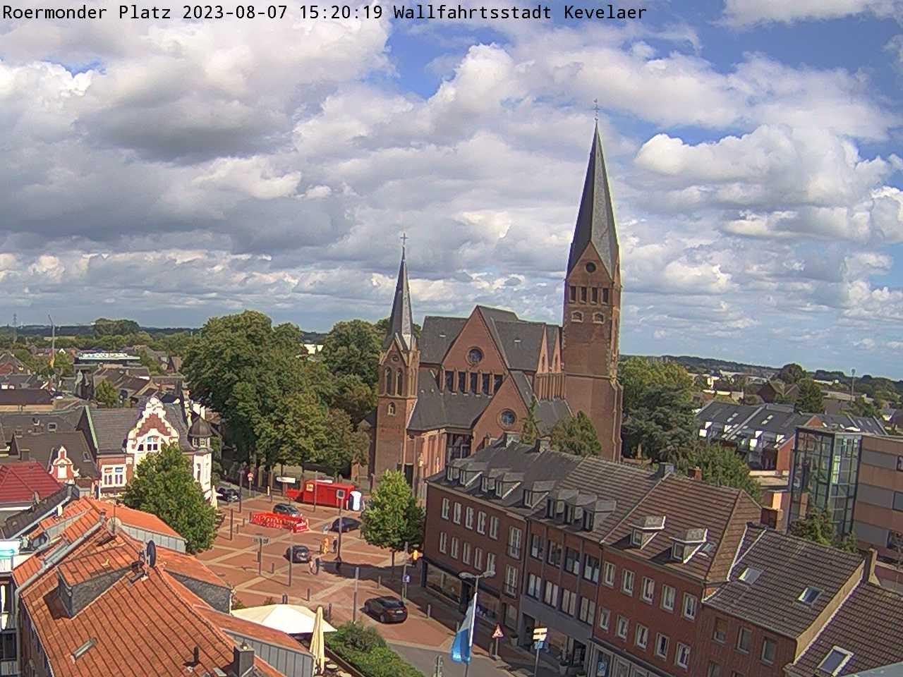 Bild der Webcam mit Blick auf den Roermonder Platz