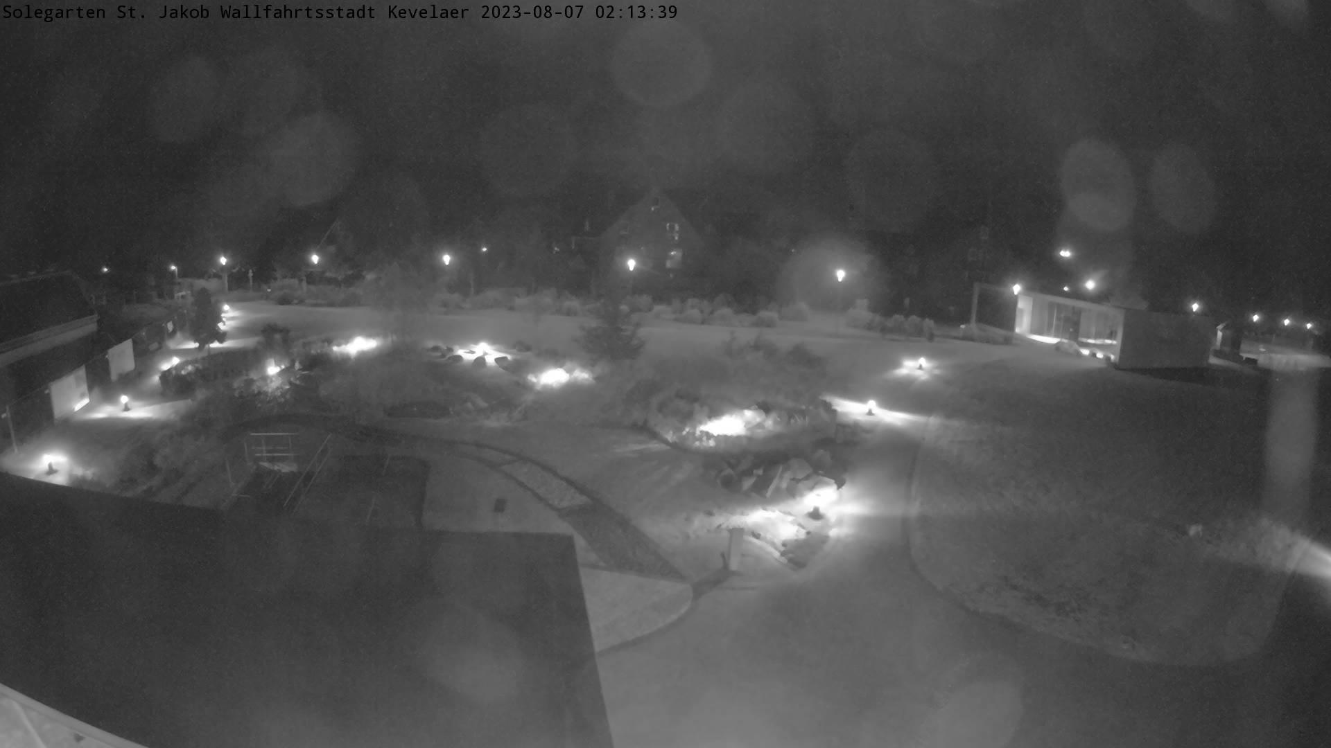 Bild der Webcam mit Blick auf den Solegarten St.Jakob